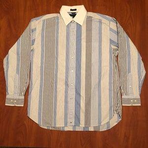 Tommy Hilfiger 80's 2-ply cotton dress shirt, L